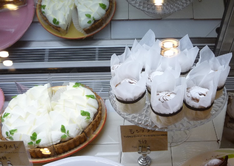 アラボンヌーのケーキ