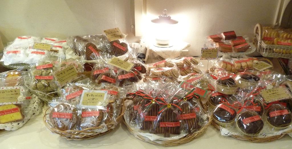アラボンヌーの焼き菓子